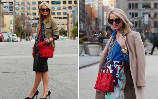 С чем носить красную сумку: стильные образы, фото и советы