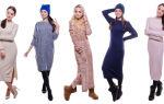 Модели платьев из трикотажа: модные тенденции трикотажных платьев 2018-2019