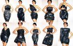 Платье из мусорных пакетов своими руками: разные платья из мусорных мешков своими руками