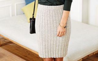 Вязаная юбка резинкой спицами: как связать юбку резинкой спицами для женщин?