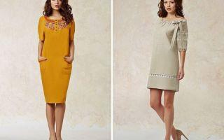 Фасоны платьев из льна: особенности моделей, интересные детали. трендовые фасоны льняных платьев.