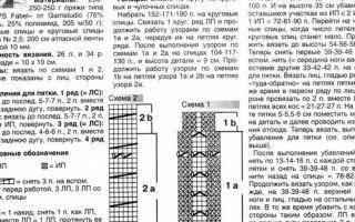 Чулки спицами пошагово: схемы и описание работы