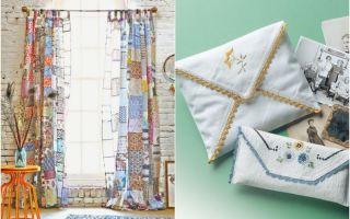 Что можно сделать из старого постельного белья — идеи