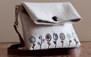 Cумки из войлока своими руками: как сшить из войлока сумки своими руками?