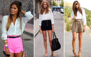 Юбка шорты: с чем носить и сочетать