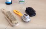 Как пользоваться щеткой для замшевой обуви? какие щётки подходят для замши: виды и фото