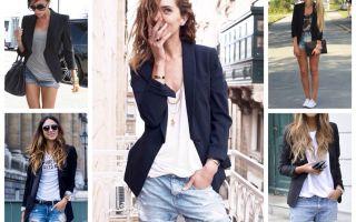 С чем носить блейзер женский, разные стили и правила сочетания