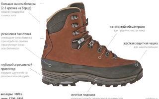 Что такое треккинговые ботинки, что это значит, предназначение и особенности