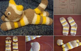 Игрушки из носков своими руками: инструкции и кого можно сделать