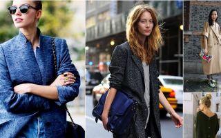 Как сочетать пиджак оверсайз, с чем носить, лучшие образы