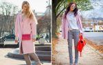 С чем носить розовое пальто: варианты для разных оттенков и стилей