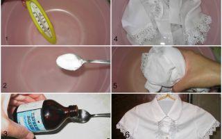Как отбелить рубашку белую в домашних условиях — инструкция эффективного отбеливания