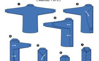 Как сложить кофту: варианты для складывания кофт с рукавами и капюшоном