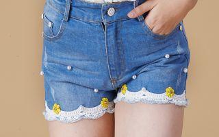 Как сделать шорты из джинс своими руками — используем новые или старые джинсы