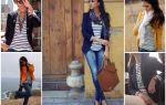 С чем носить женский пиджак в полоску: советы как и с чем сочетать (фото)