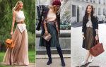 Образы с плиссированной юбкой: с чем надеть и сочетать