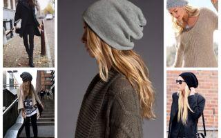 Серая шапка: с чем носить, как правильно сочетать
