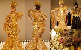 Самое дорогоме платье в мире и топ 10 жутко дорогих нарядов