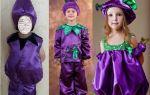 Костюм баклажана для мальчика и девочки своими руками: пошаговое выполнение костюма