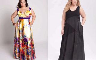 Сарафаны для полных женщин: фото, фасоны и разные ткани
