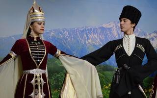 Адыгейский национальный костюм: фото и отличительные черты
