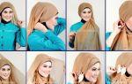 Как красиво завязать платок хиджаб: классические и современные способы