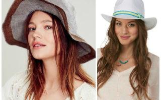 Шляпа к круглому лицу: советы, как подобрать шляпу по форме и цветотипу лица