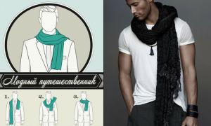 Как завязать кофту на плечах: варианты для мужчин и женщин