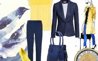 Синие брюки — с чем носить женщинам осенью, зимой, весной и летом? особенности выбора модели. обувь к синим брюкам. топ 5 идей как сочетать.