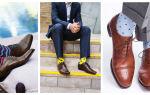 Как носить длинные носки: варианты сочетаний для женщин и мужчин