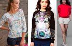 Что такое свитшот в одежде : своеобразие и разновидности модели