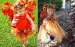 Осенний костюм для девочки своими руками: идеи костюмов, фото, советы по созданию наряда
