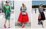 Как сочетать свитшот с юбкой? комбинируем свитшот с различными моделями юбок.