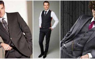 Можно ли носить костюм-тройку без пиджака: почему костюм-тройку носили с пиджаком, изменились ли традиции сегодня
