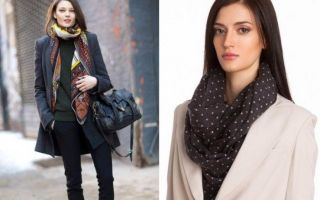 Как носить палантин с пальто: несколько способов завязать красиво
