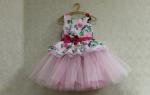 Платье из фатина для девочки своими руками: как для девочки сшить нарядное платье из фатина