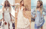 Модели платьев бохо: разновидности моделей платьев в стиле бохо на все случаи жизни