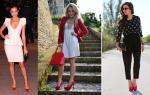 С чем носить красные туфли: фото и рекомендации по созданию красивого образа