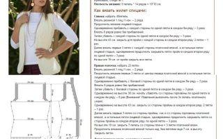 Женская жилетка спицами: простые схемы и узоры вязанных жилеток для начинающих
