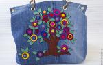 Шью сумку из старых джинсов — как украсить: идеи украшения