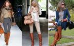 С чем носить рыжие женские ботинки: фото, советы по стилю