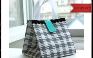 Как сделать сумку из бумаги: своими руками, подарочная сумка