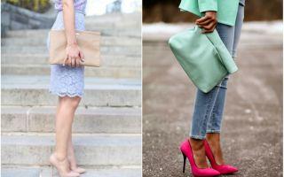С чем носить туфли лодочки: с чем сочетать по стилю, модели и цвету (черные, белые, цветные)