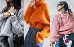 Модные свитера 2018 женские: фото, стильные модели и образы