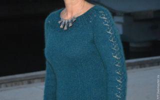Платье из мохера спицами: короткое платье из мохера