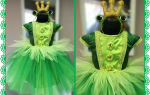 Костюм лягушки для девочки и мальчика своими руками: как сделать костюм лягушки пошагово