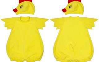 Костюм цыпленка для мальчика и девочки своими руками: пошаговое выполнение