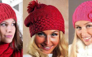 Модели вязаных шапок: виды, фасоны и фото актуальных вариантов
