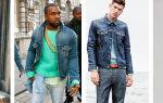 С чем носить джинсовую куртку мужчинам: сезонность, цвет, фасон, обувь и аксессуары; распространенные ошибки