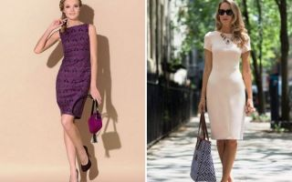 Платье футляр 2019: фото, новинки и описание